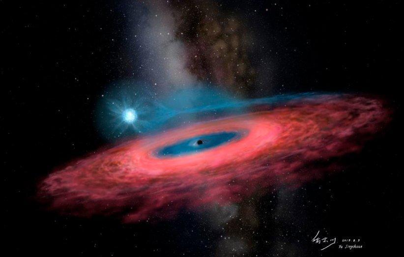 کشف سیاهچاله پرجرمی که اخترشناسان را شگفت زده کرد