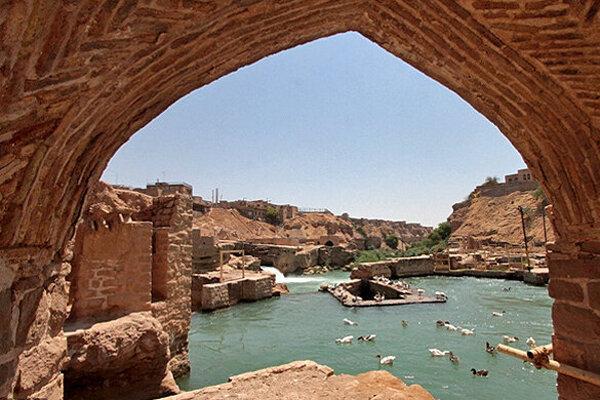 سازه های آبی تاریخی شوشتر لایروبی می گردد