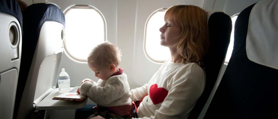 نکاتی درباره سفر هوایی با بچه ها