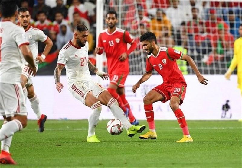 بازی محبت آمیز ایران و عمان در تهران