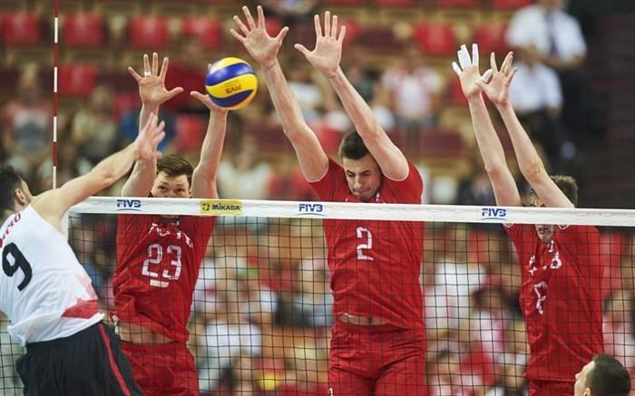 لیگ ملتهای والیبال؛ کانادا برای روس ها دردسرساز نبود