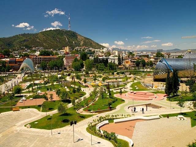 پارک رایک تفلیس ، جدیدترین پارک شهری پایتخت گرجستان