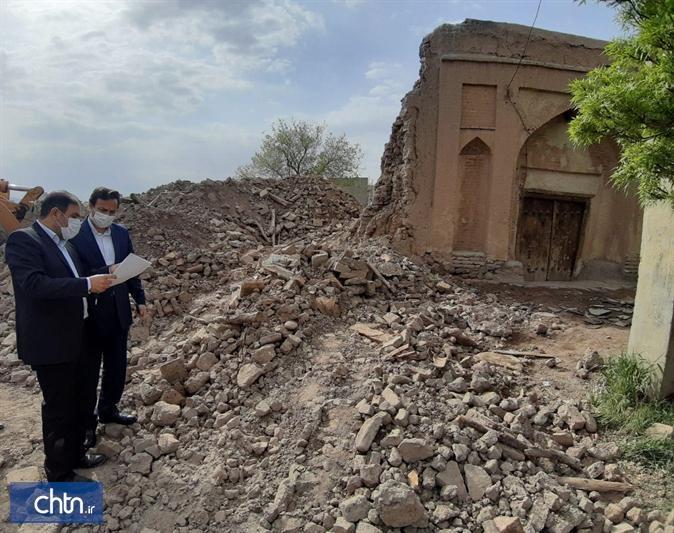 توقف عملیات عمرانی در محوطه ساختمان باباخان تبریز