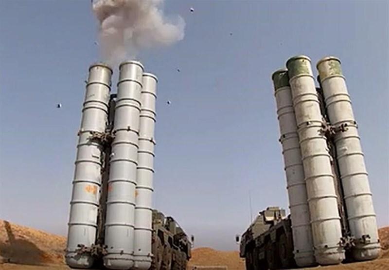 دفع حملات موشکی توسط سامانه اس-400 در آستاراخان روسیه