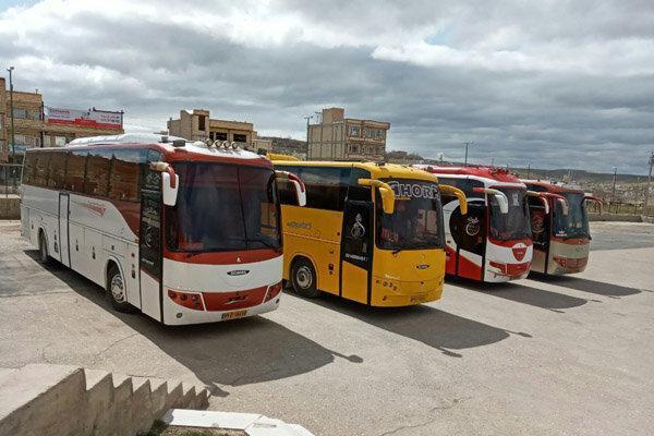 فعالیت دوباره پایانه های مسافری در کرمانشاه
