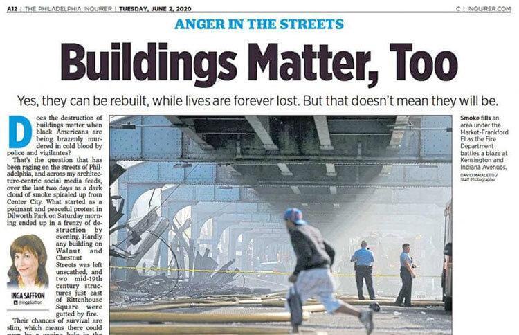 جان ساختمان مهم است یا جان انسان؟ ، مدیر ارشد روزنامه آمریکایی استعفا داد