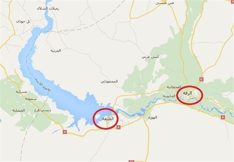 حمله هواپیماهای روس به مواضع داعش در سوریه