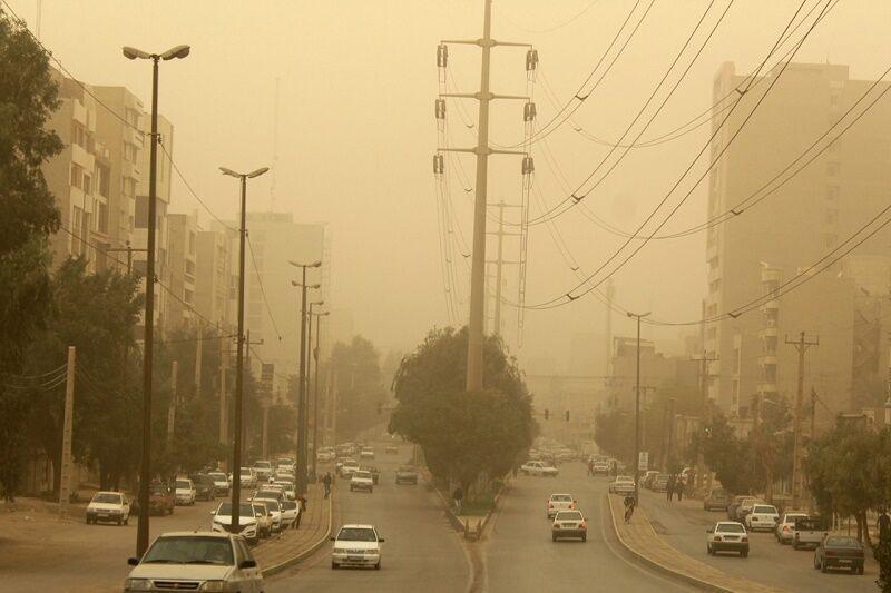 هشدار هواشناسی درباره احتمال خیزش گرد و خاک در 11 استان