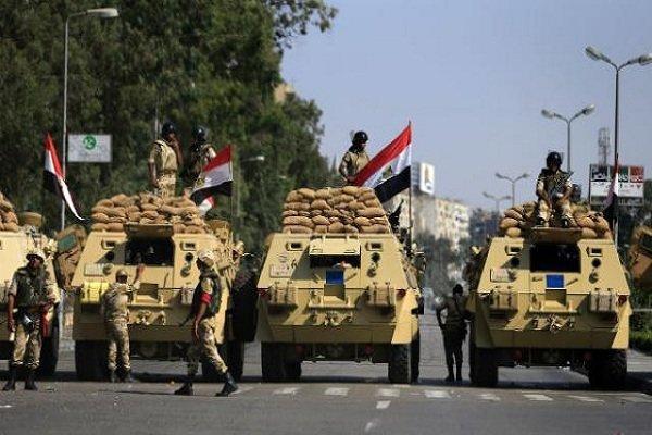 عملیات ارتش مصر علیه گروه های تروریستی در صحرای سینا