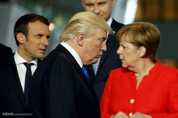 مرکل: اروپا باید به جهانی بدون رهبری آمریکا فکر کند
