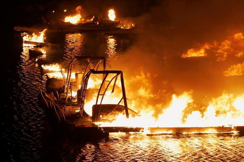 آتش سوزی کالیفرنیا، از تخلیه خانه تا یاری ارتش (