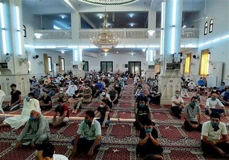 نماز عید قربان در سوریه در بین تدابیر پیشگیرانه و بهداشتی برگزار گردید