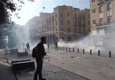 لبنان، حمله بعضی گروه ها به چند وزارتخانه، مهاجمان به اسناد و پرونده ها آسیب رساندند