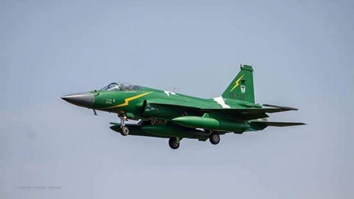 سقوط هواپیما نیروی هوایی پاکستان در پنجاب