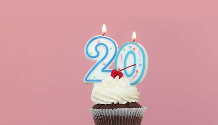 متن تولد بیست سالگی (گلچین تبریک جشن تولد 20 سالگی)