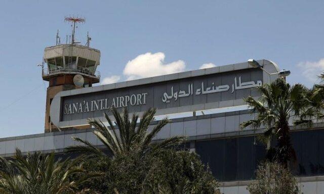 ائتلاف سعودی به فرودگاه صنعا حمله نموده است