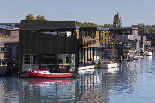 ایجاد روستای شناور سازگار با محیط زیست در هلند