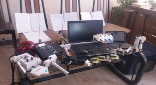 دستگیری اعضا باند حفار غیرمجاز در طالقان