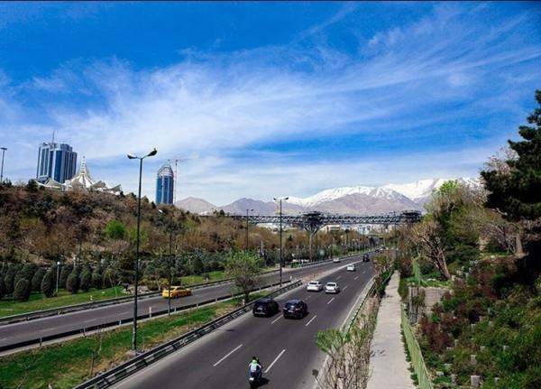 شاخص کیفیت هوای تهران امروز دوشنبه 18 اسفند؛ تداوم هوای مطلوب پایتخت