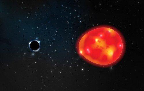 کشف نزدیک ترین سیاهچاله به زمین