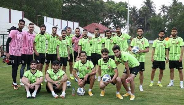 تمرین پرسپولیس همراه با مدافع جدید برای بازی با الوحده امارات