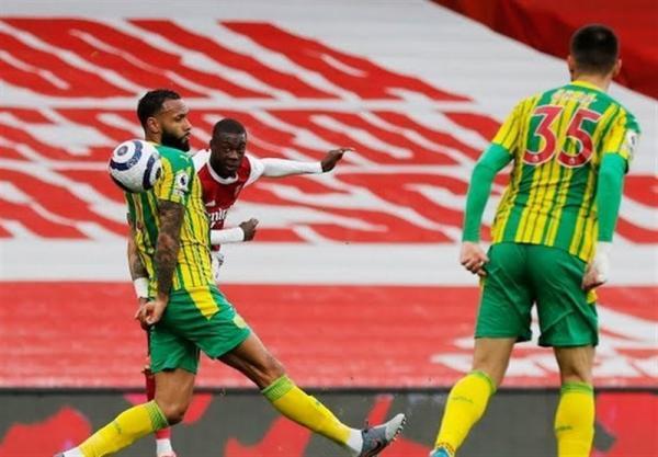 لیگ برتر انگلیس، آرسنال، وست برومویچ را به لیگ دسته اول برگرداند