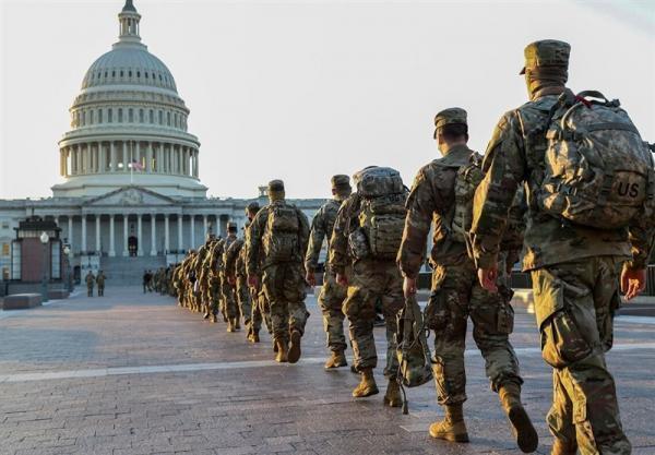 نظامیان گارد ملی هفته آینده ساختمان کنگره را ترک می نمایند