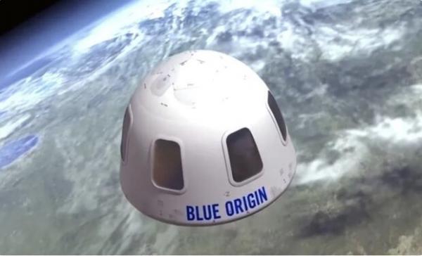 بلیط همسفر جف بزوس در سفر به فضا 28 میلیون دلار فروخته شد