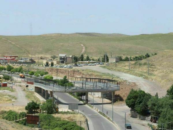 پل سلامت قزوین بزودی به بهره برداری می رسد