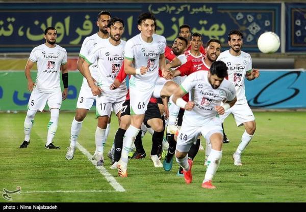 لیگ برتر فوتبال، ذوب آهن - آلومینیوم؛ یک نیمه بدون برنده