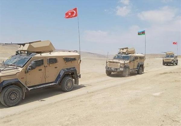 رزمایش مشترک نظامی ترکیه و جمهوری آذربایجان در باکو