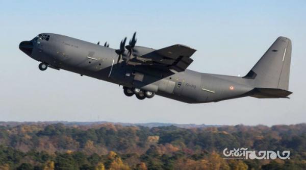 جدیدترین نسخه مسافربری هواپیمای غول پیکر C، 130 و حرکات حیرت انگیز آن