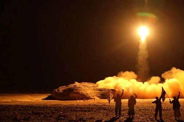 عملیات موشکی ارتش یمن علیه ائتلاف متجاوز سعودی